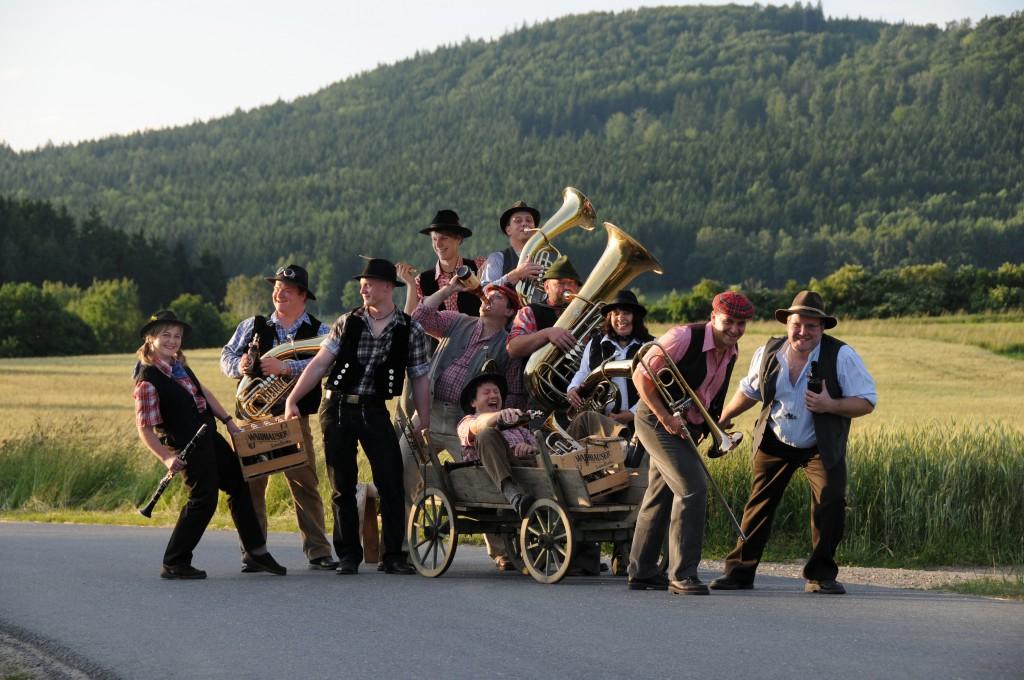 Bild von Gruppe d´Woihauser Straßenmusikanten