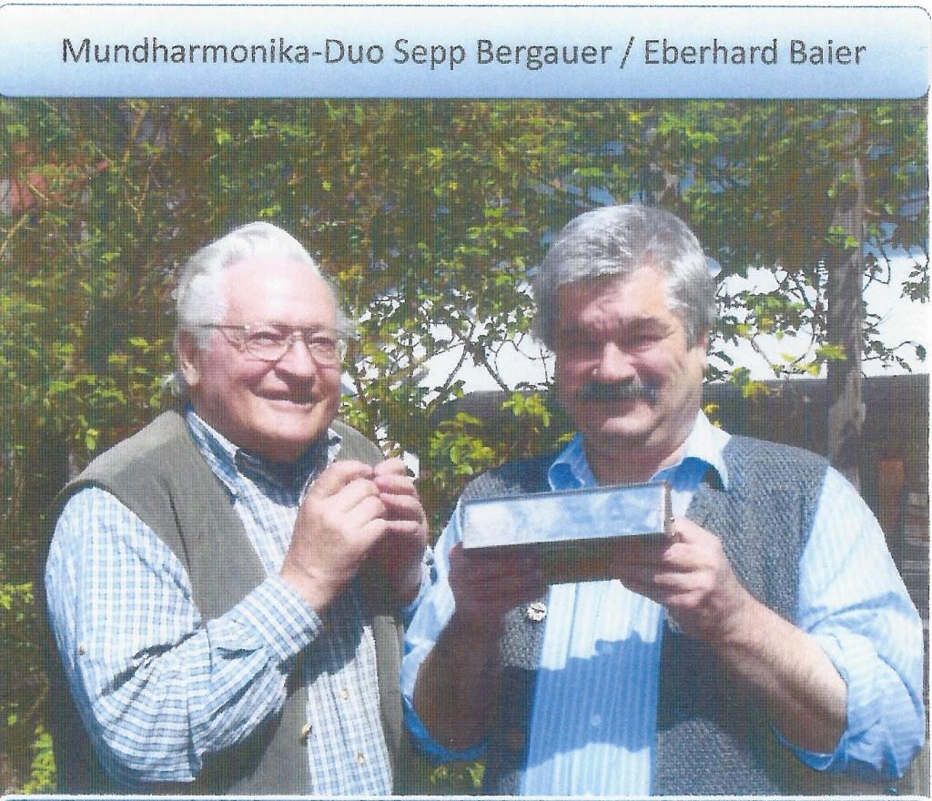 Bild von Gruppe Mundharmonika Duo Bergauer/Baier
