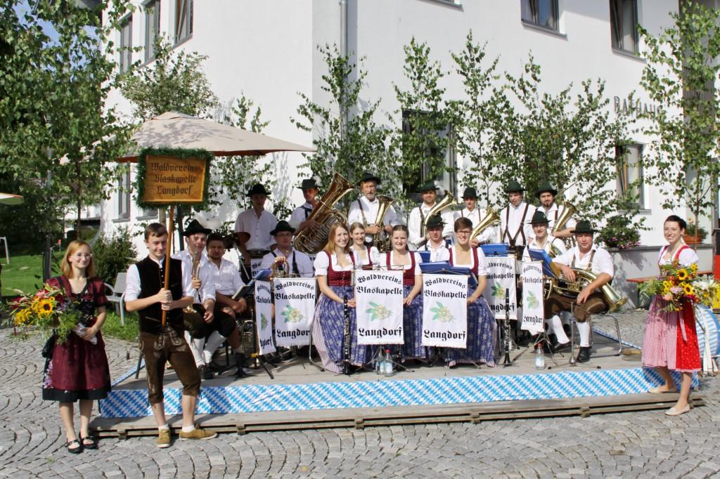 Bild von Gruppe Waldvereinskapelle Langdorf
