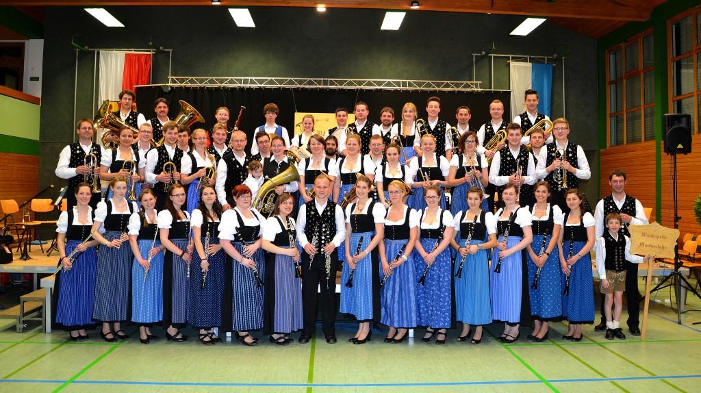 Bild von Gruppe Blaskapelle Möckenlohe