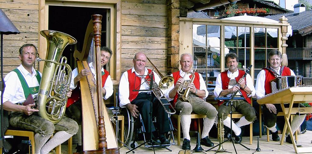 Bild von Gruppe Tiroler Kirchtagmusig