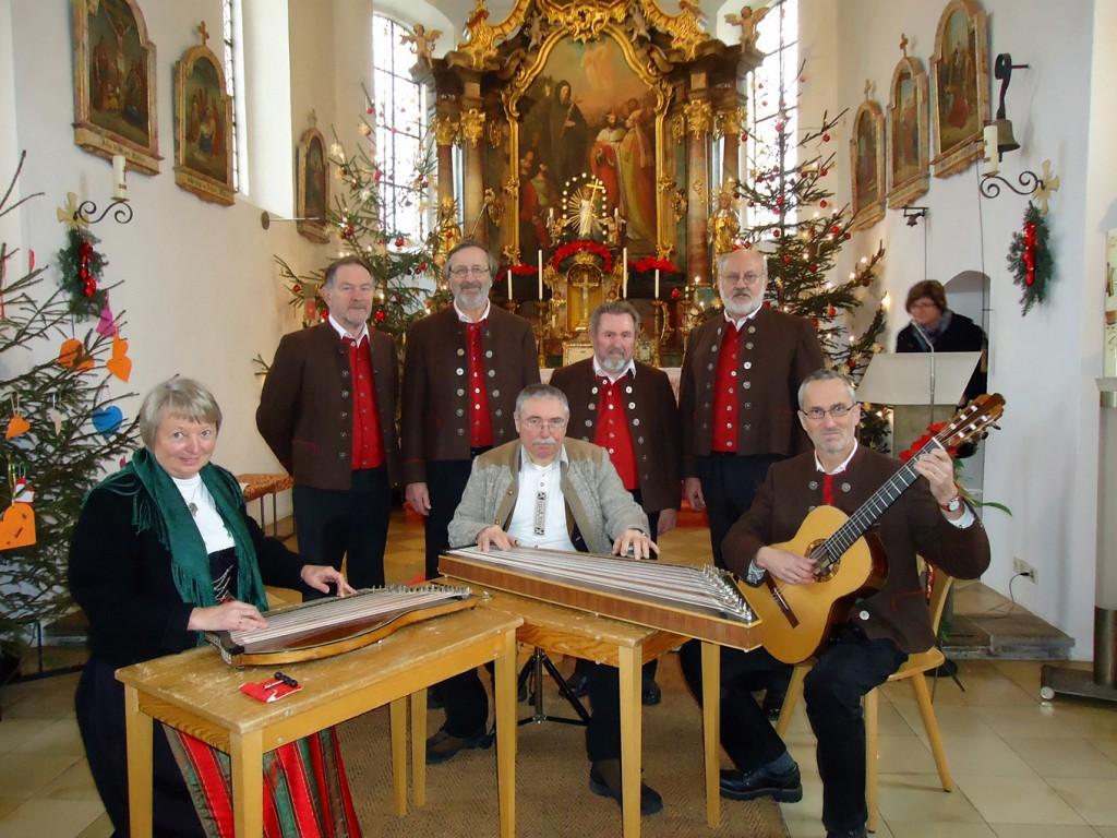 Bild von Gruppe Maierbachsänger