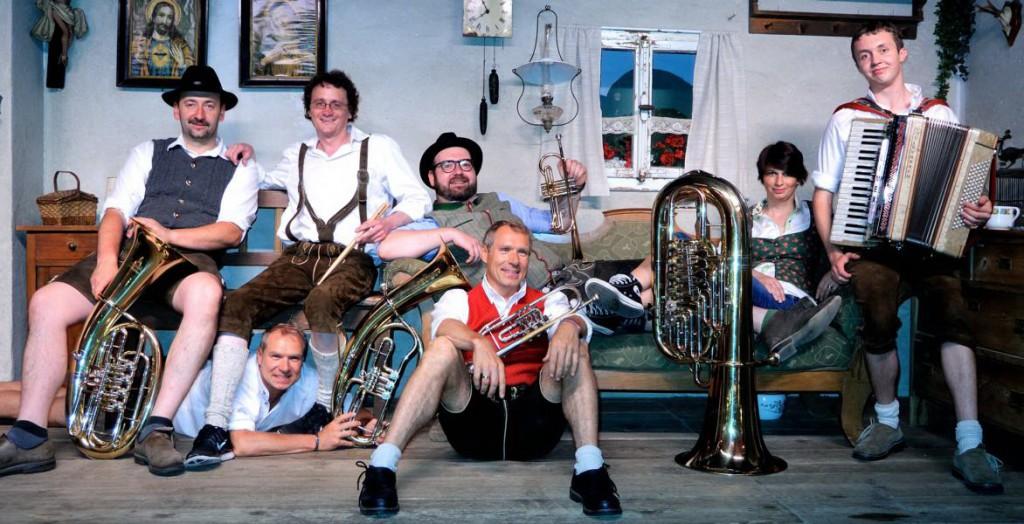 Bild von Gruppe Haberfeldmusikanten