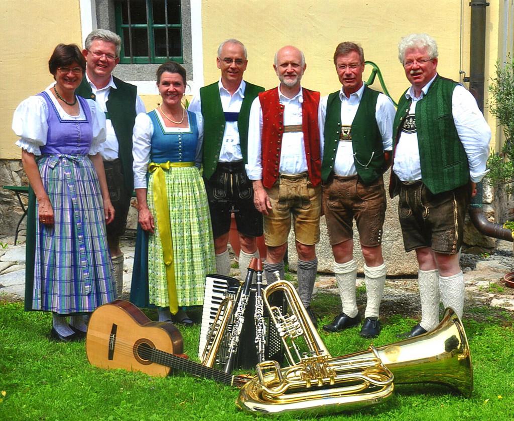 Bild von Gruppe Hochberghauser Tanzlmusi