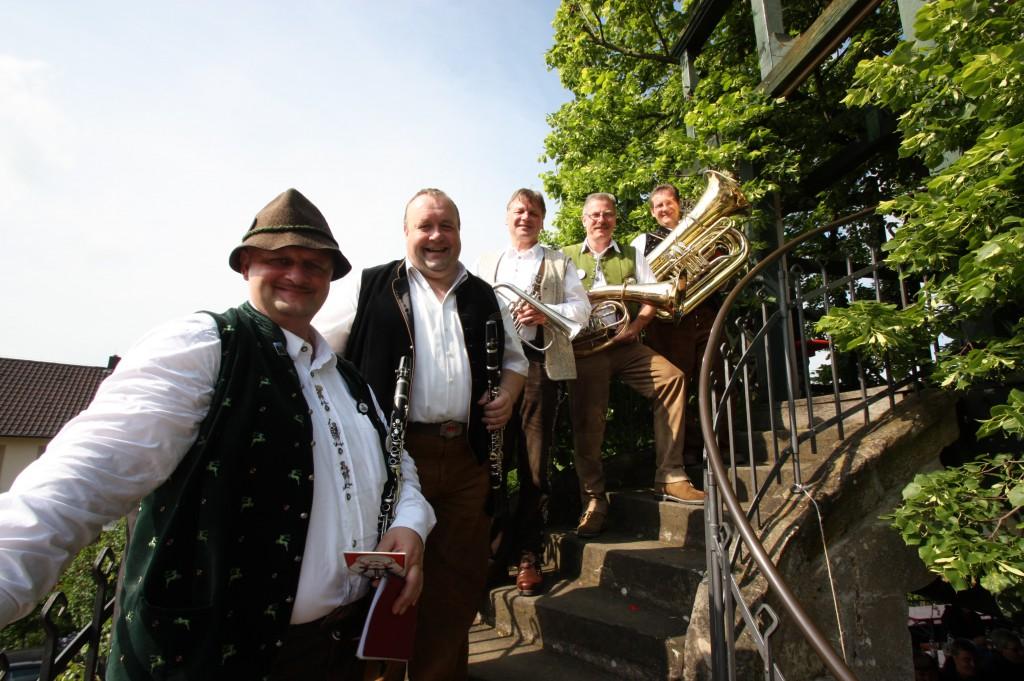 Bild von Gruppe Kulmbocher Stollmusikanten