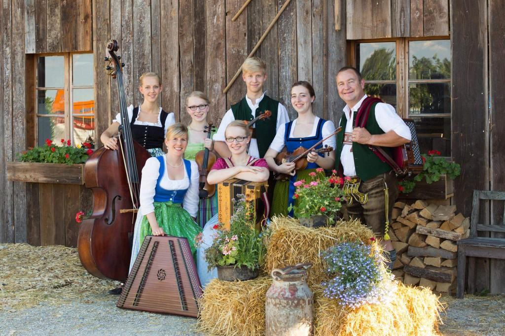 Bild von Gruppe Frasdorfer Geigenmusi