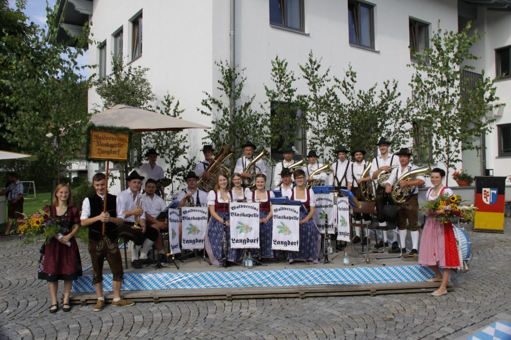 Bild von Gruppe Waldvereinsblaskapelle Langdorf