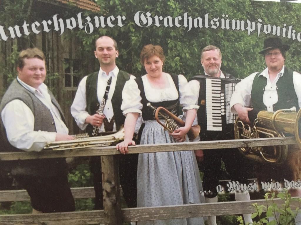 Bild von Gruppe Unterholzner Grachalsümpfoniker
