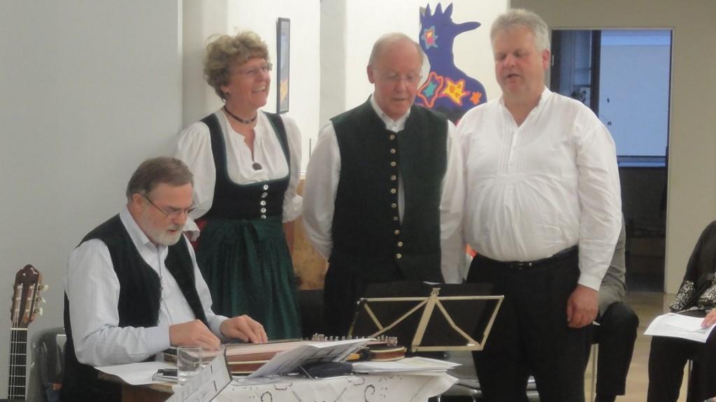 Bild von Gruppe Mühldorfer Viergesang