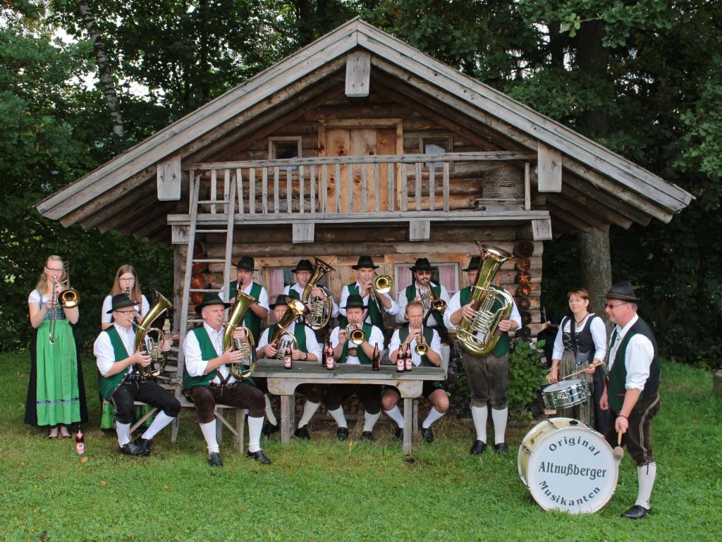 Bild von Gruppe Original Altnußberger Musikanten