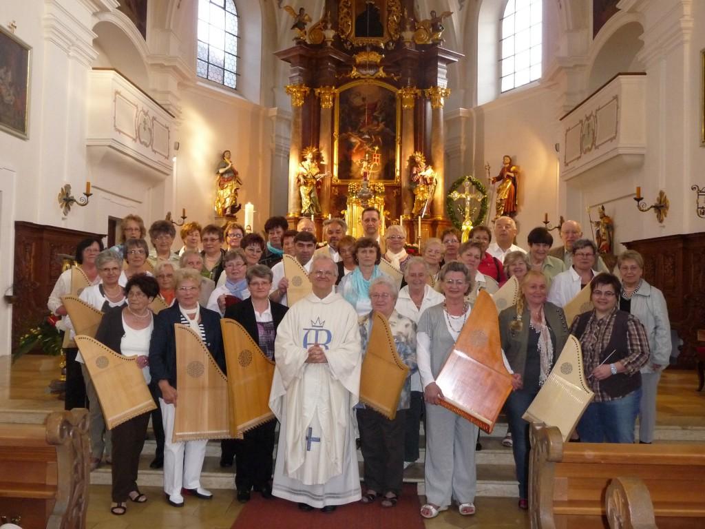 Bild von Gruppe Veeh-Harfen-Orchester der Musikschule Neustadt an der Waldnaab