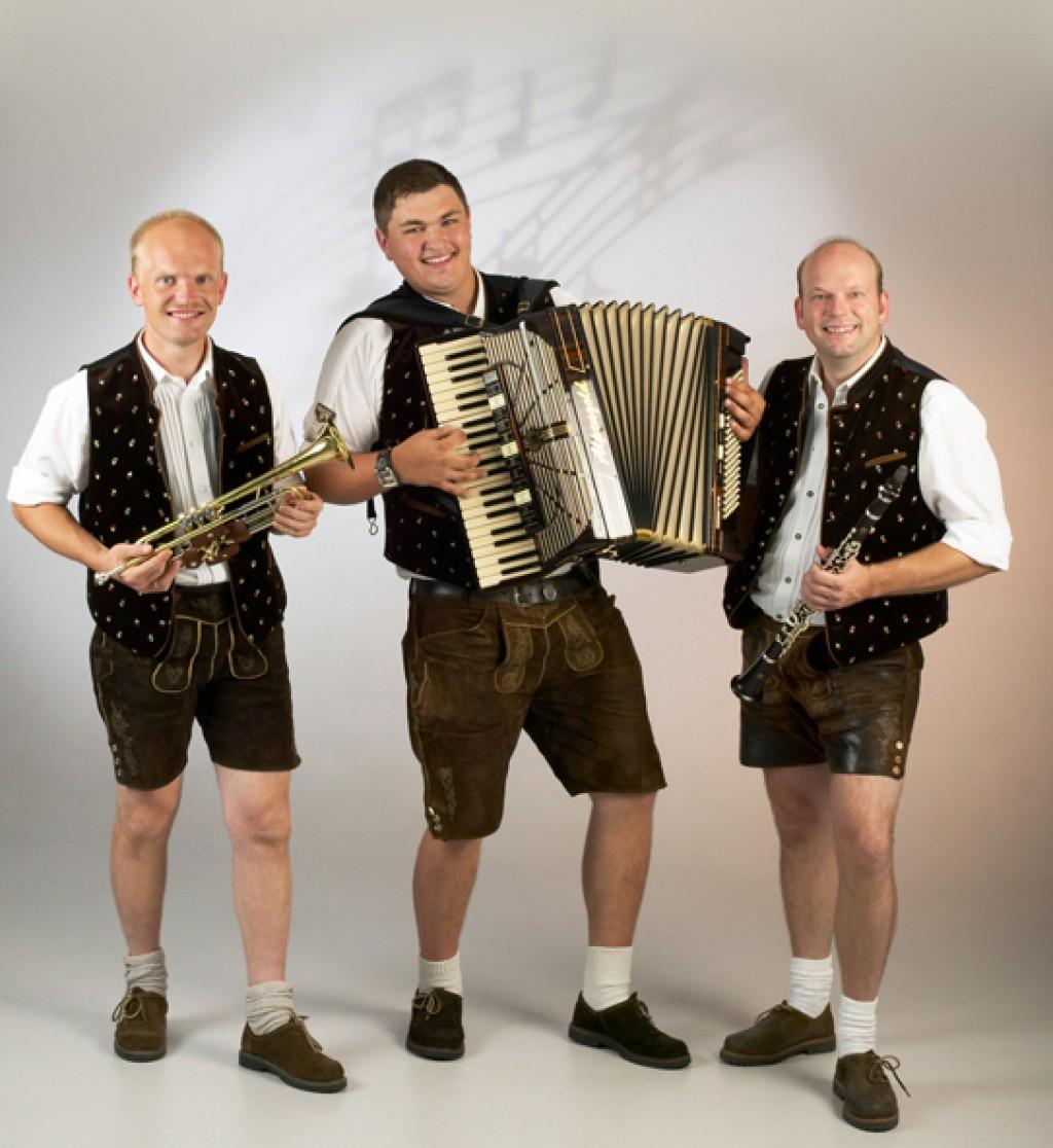 Bild von Gruppe Grenzland Trio