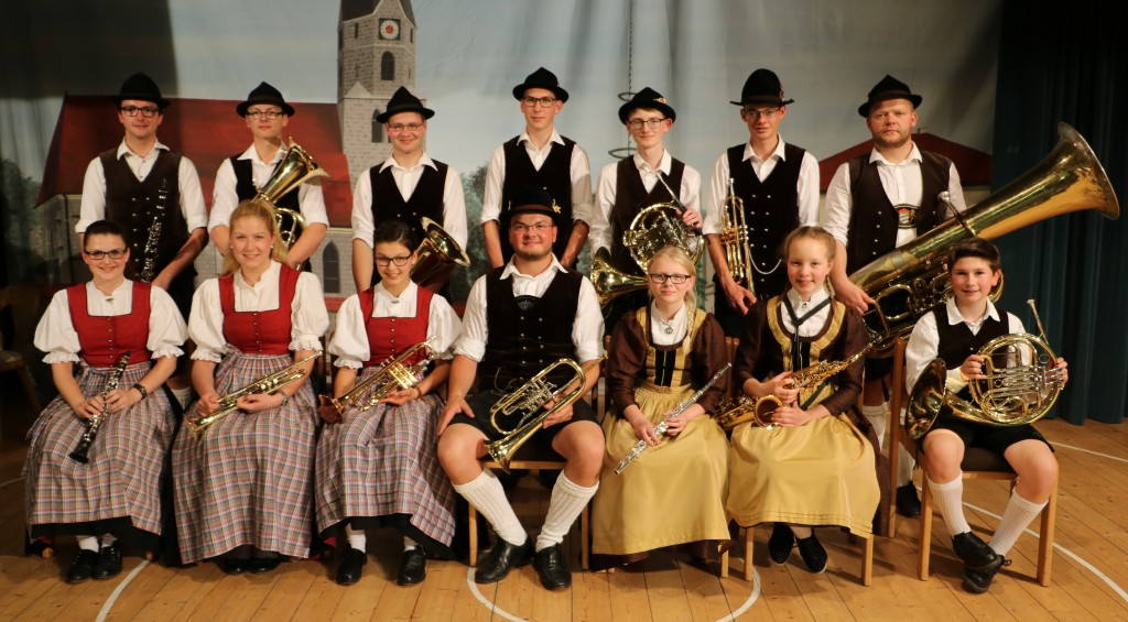 Bild von Gruppe Würdinger Dorfmusik