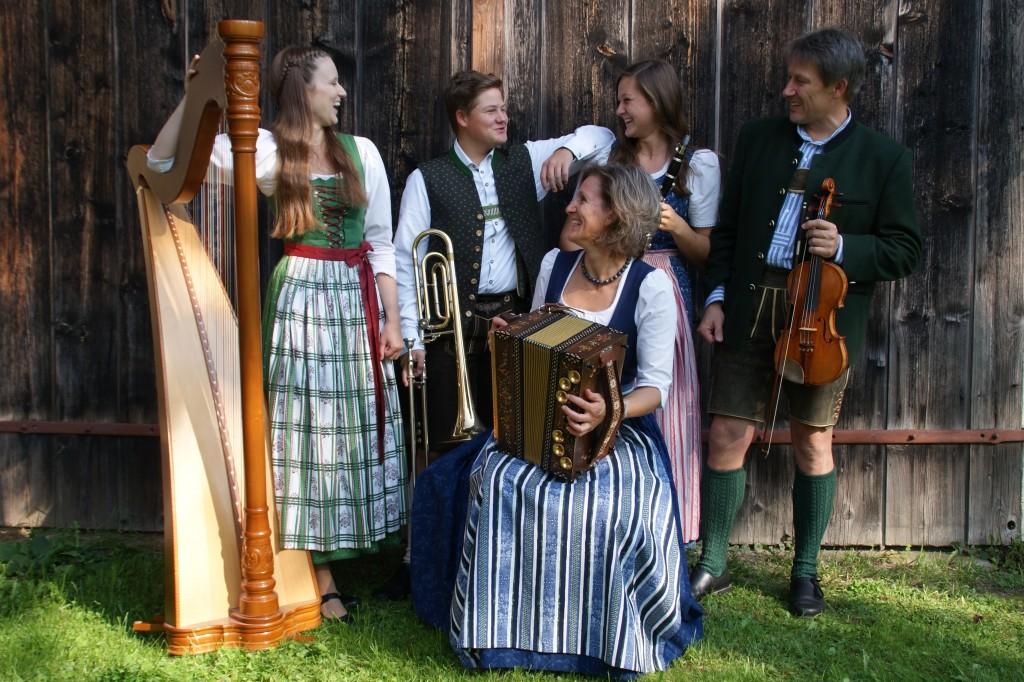 Bild von Gruppe Familienmusik Pommermayr