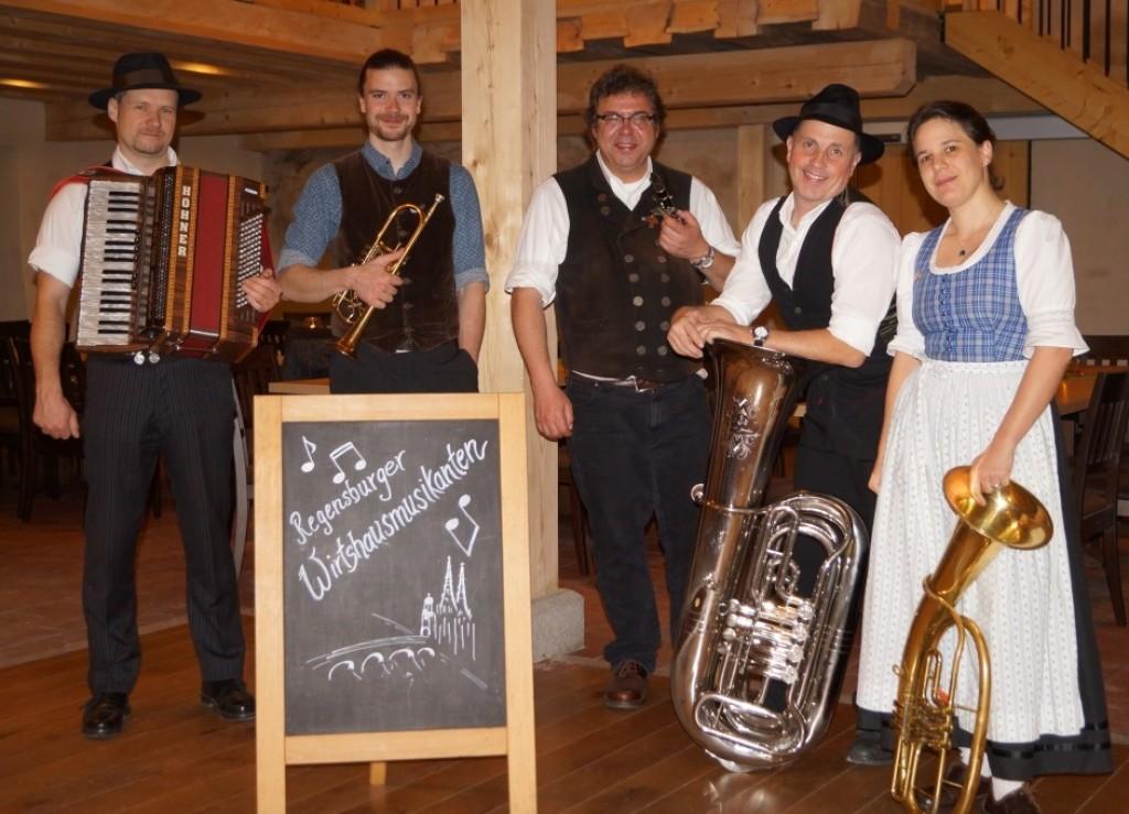 Bild von Gruppe Regensburger Wirtshausmusikanten