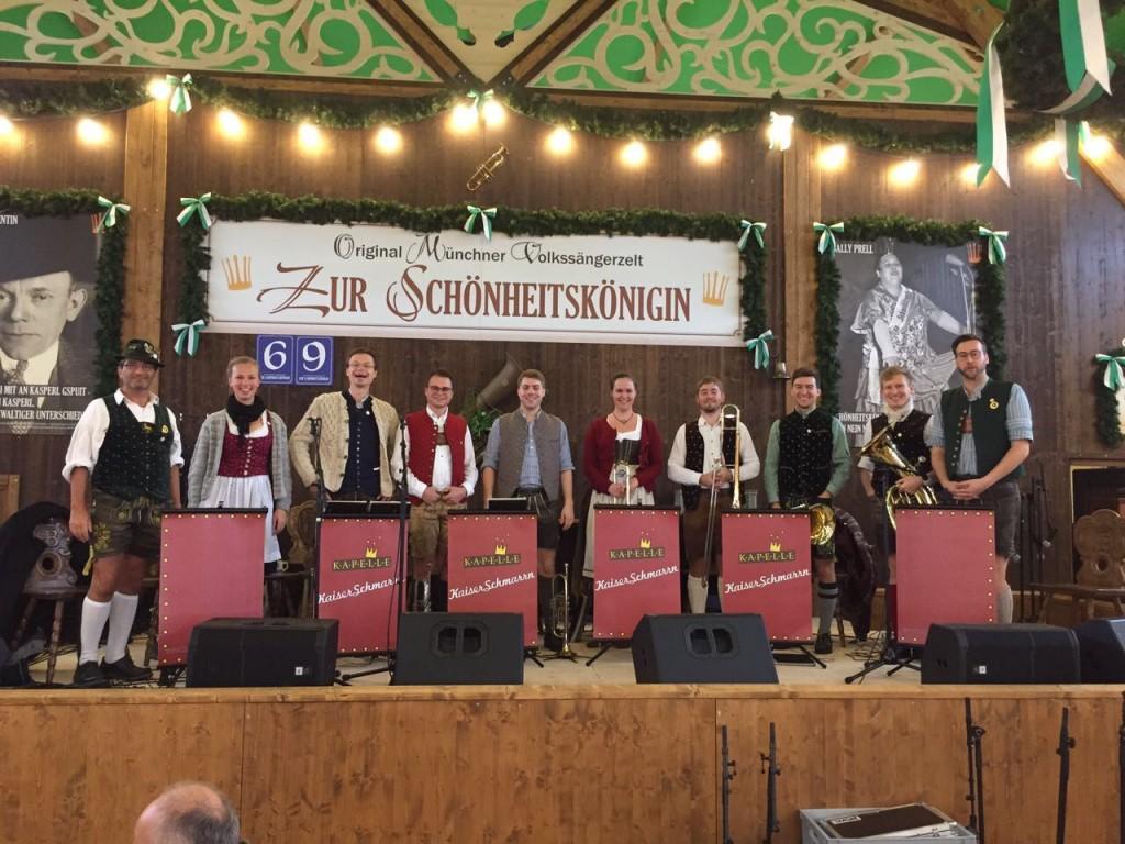 Bild von Gruppe Kapelle Kaiserschmarrn